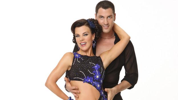 Debi Mazar and Maksim Chmerkovskiy -- Image via ABC.com