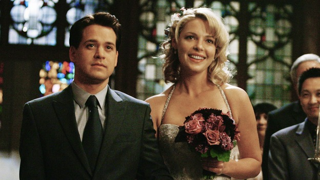 Greys Anatomy stars T.R. Knight and Katherine Heigl -- Image courtesy of ABC.com