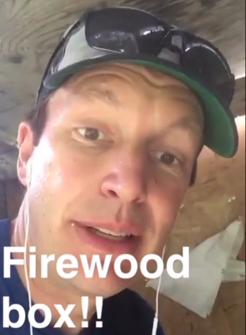 A screenshot of Murphy's snap from the firewood box. (Courtesy of Murphy's office)