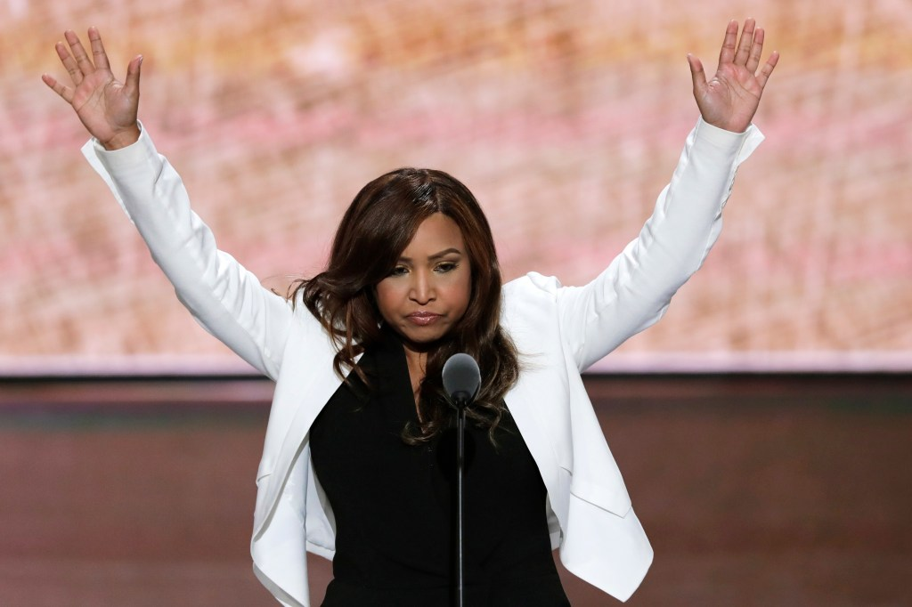 Lynne Patton spoke at the Republican National Convention last summer and was part of a