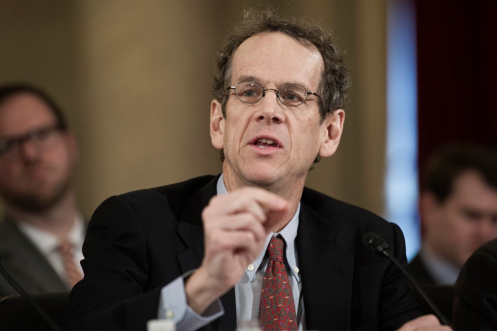Earlier this year, David Cole began a stint as legal director for the American Civil Liberties Union. (AP Photo/Cliff Owen file photo)