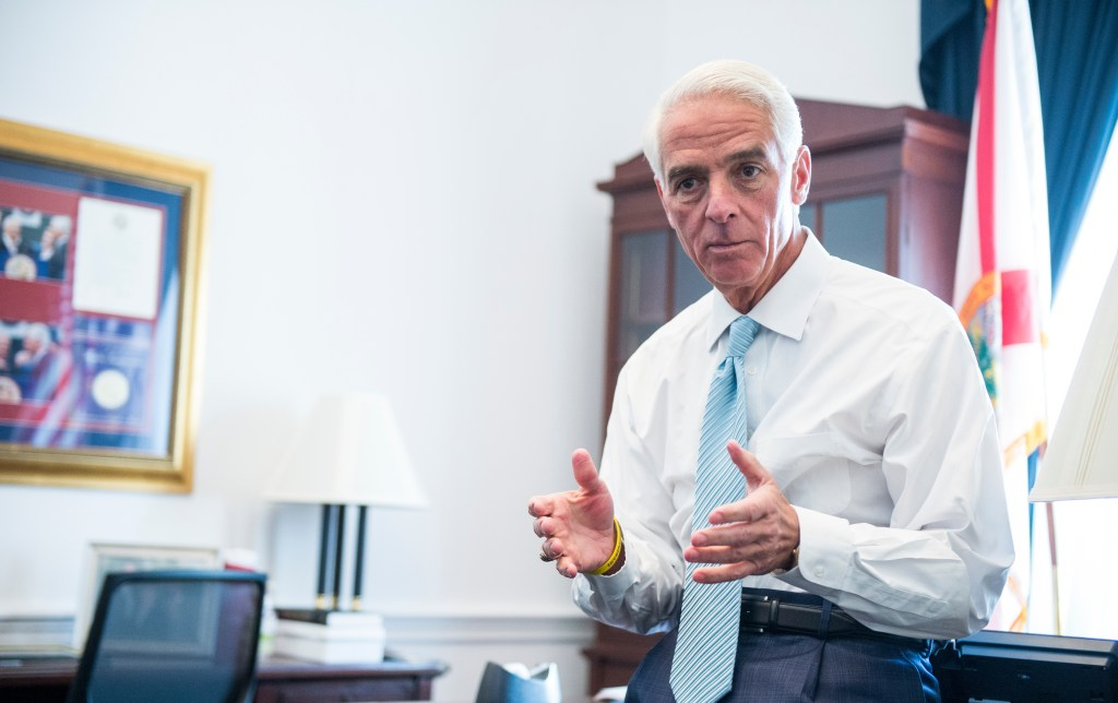 Crist says he wakes up at 4:30 a.m. every day. (Bill Clark/CQ Roll Call file photo)