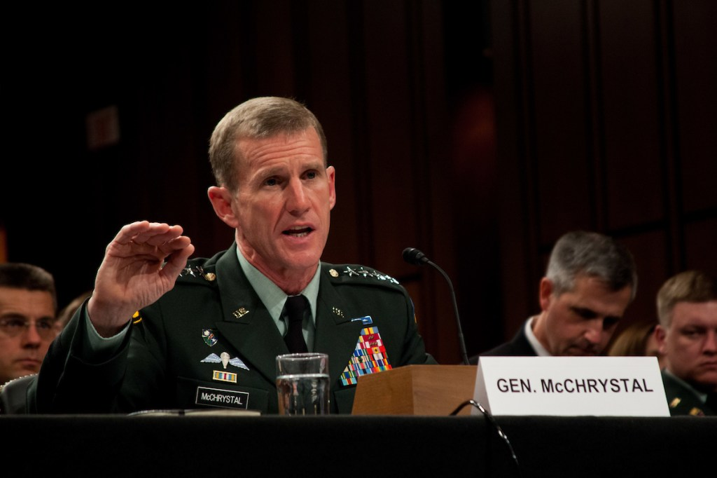 Stanley A. McChrystal. Photo by Ryan Kelly/Congressional Quarterly