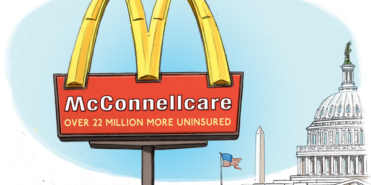 Capitol Ink   McConnellcare - Roll Call