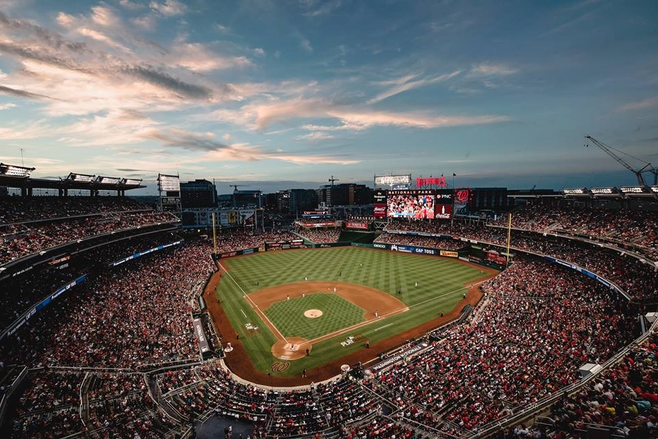 The Washington Nationals play their National League East rival New York Mets at Nationals Park at dsfadf on the Fourth. (WashingtonNationals.com)