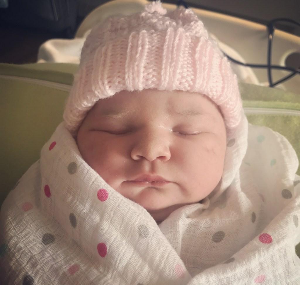 Caroline Costello was born on Monday. (Courtesy of Costello's office)