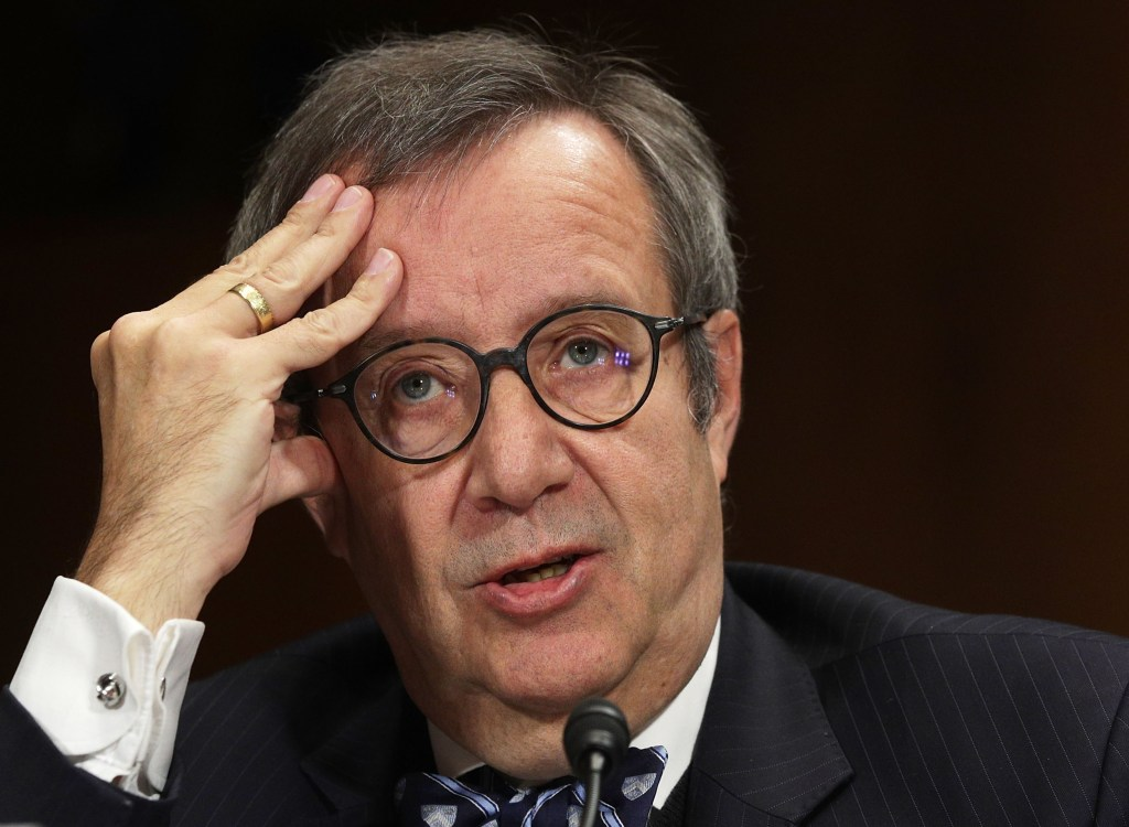 Former Estonian President Toomas Hendrik Ilves says cybersecurity in Congress is very lax. (Alex Wong/Getty Images file photo)