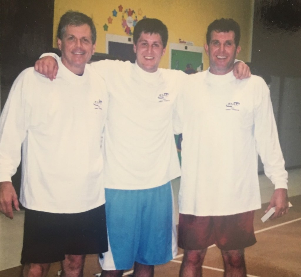 From left to right: Rep Ralph Norman, R-S.C., his son Warren and the Congressman's brother David when they were all in a basketball league together in Rock Hill, SC. (Courtesy Norman's office)