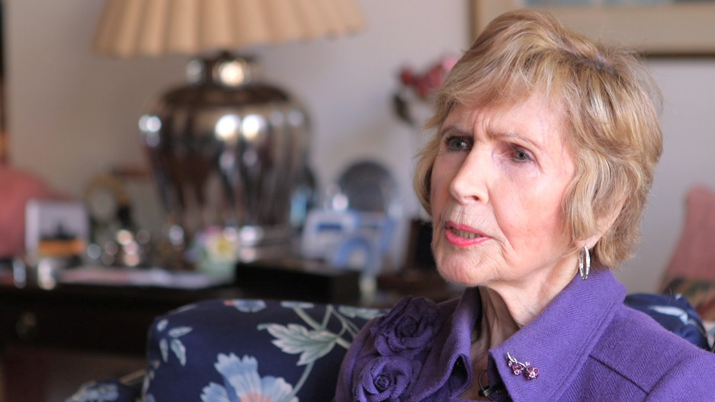 Rep. Connie Morella, R-Md., recalls a celebrity flirting with her staffer. (Thomas McKinless/ CQ Roll Call)