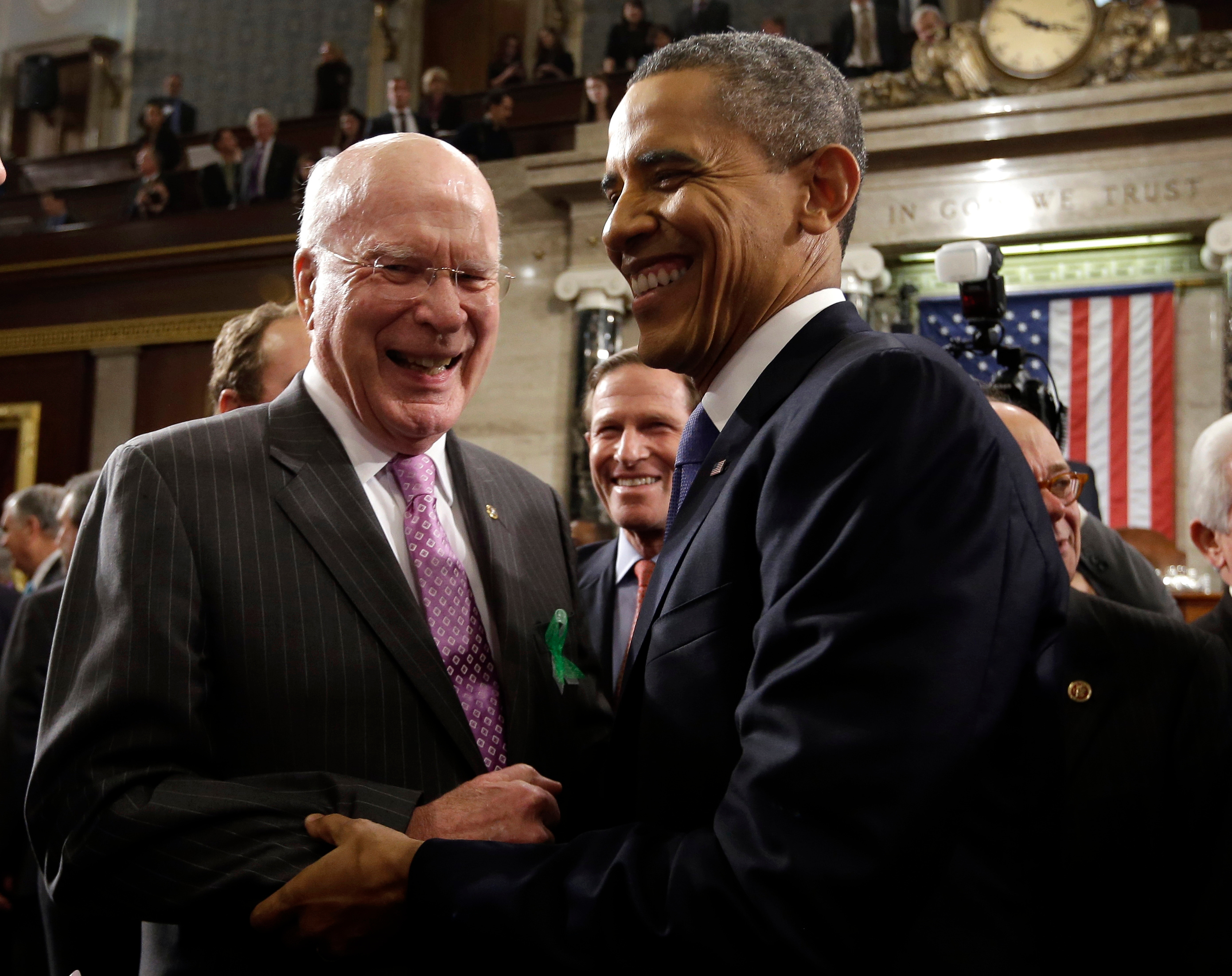 From Ford to Trump, Patrick Leahy Has ...