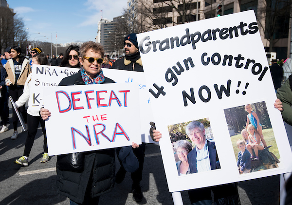 The March For Our Lives crowd on Saturday. (Bill Clark/CQ Roll Call)