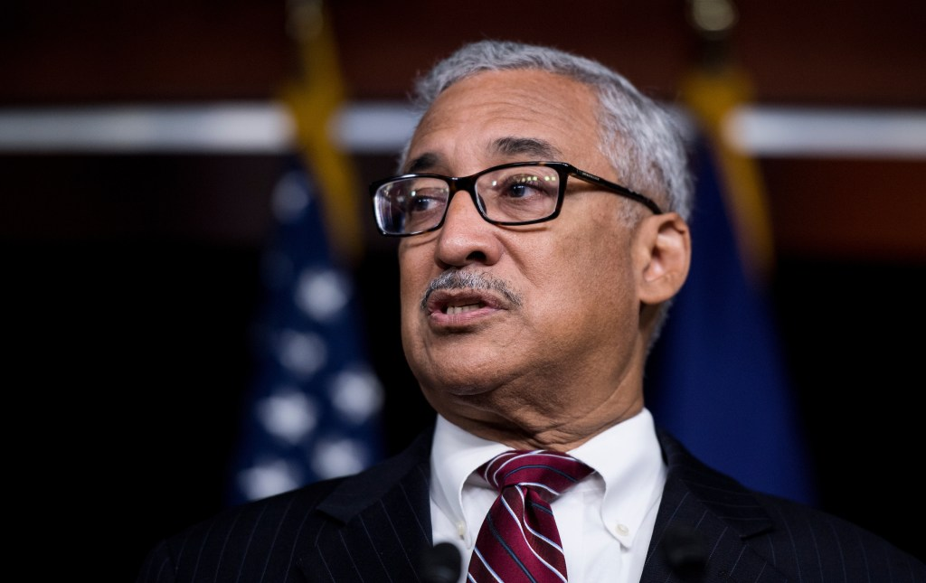 Rep. Bobby Scott, D-Va., participates in the House Democrats' news conference on health care reform in the Capitol on Thursday, July 20, 2017. (Photo By Bill Clark/CQ Roll Call)