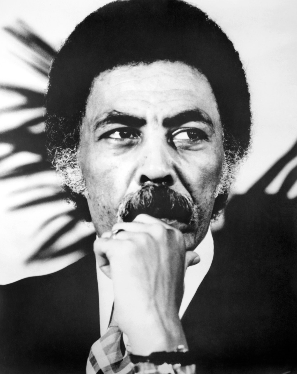 Rep. Ron Dellums, D-Calif. August 17, 1983. (Photo by CQ Roll Call)