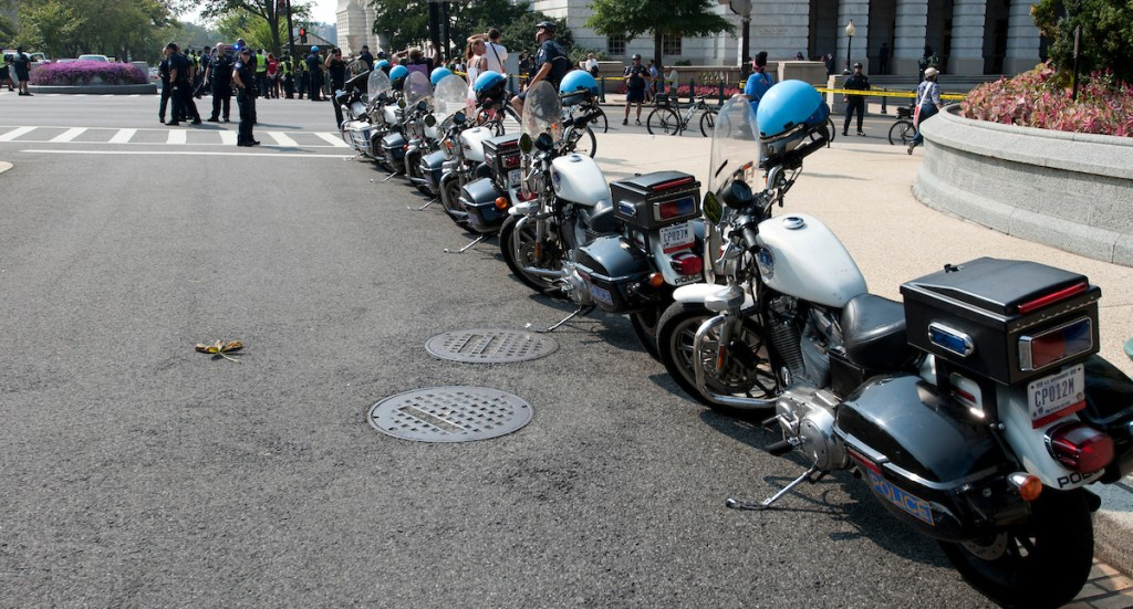 The Secret Service is buying a Harley-Davidson motorcycle, despite the president calling for a boycott. (CQ Roll Call File Photo)
