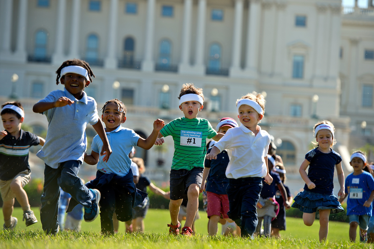 Image result for picture of the capitol hill with children