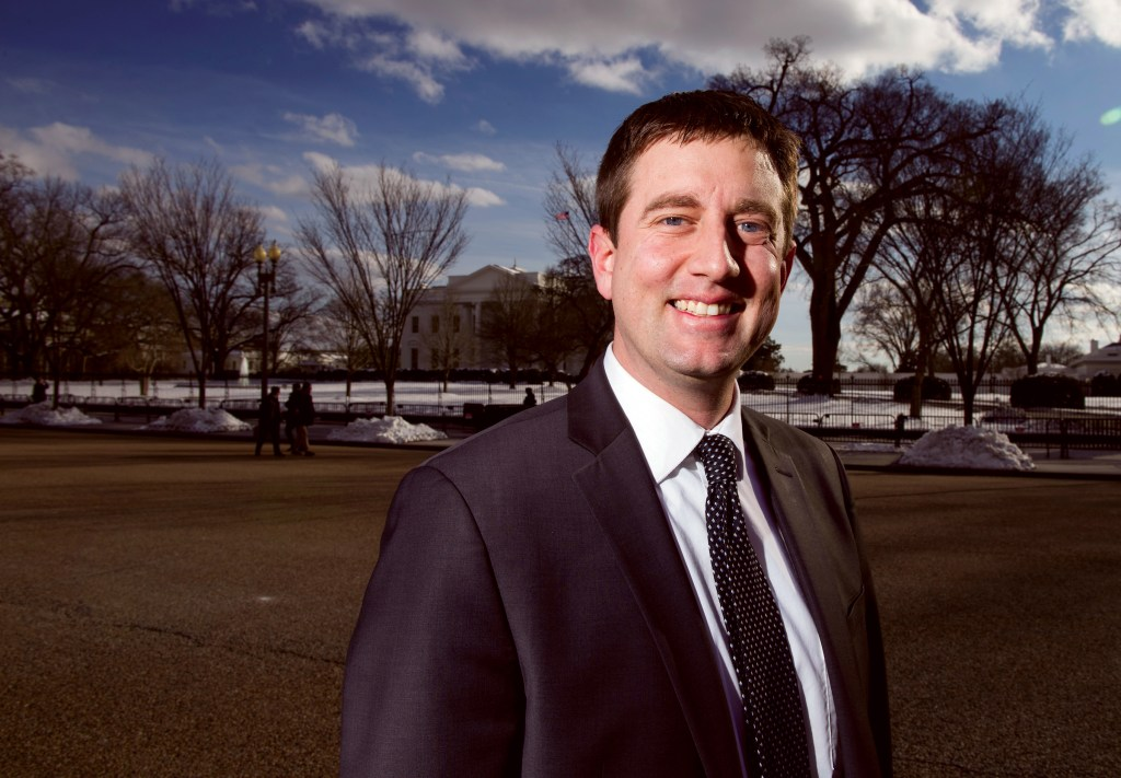 UNITED STATES - JANUARY 16: Brian Blase, Special Assistant to the President for Economic Policy, poses outside of the White House n Wednesday, Jan. 16, 2019. (Photo By Bill Clark/CQ Roll Call)