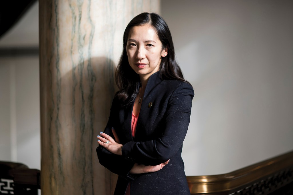 UNITED STATES - JANUARY 8: Dr. Leana Wen is the new President of the Planned Parenthood Federation of America and the Planned Parenthood Action Fund. (Photo By Bill Clark/CQ Roll Call)