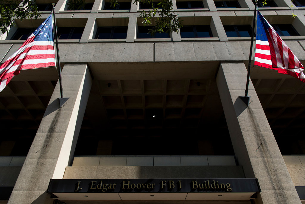 The J. Edgar Hoover FBI building in Washington as seen on Tuesday, Aug. 23, 2016. (Bill Clark/CQ Roll Call file photo)