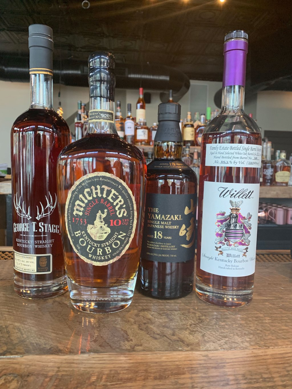 The bar will feature more than 300 types of whiskey. (Clyde McGrady/CQ Roll Call)