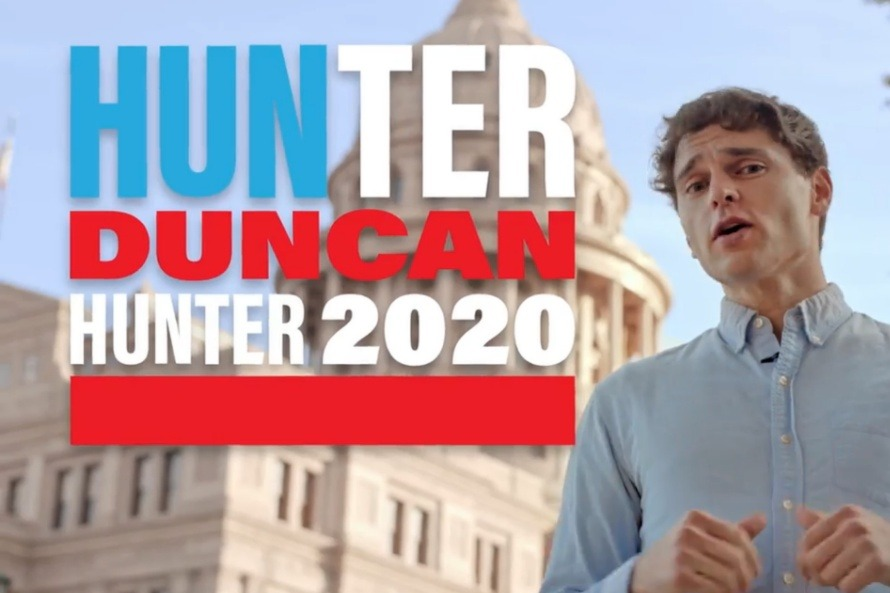 Hunter Duncan is a guy in Austin, TX who is tired of being confused for Rep. Duncan Hunter (GoFundMe)