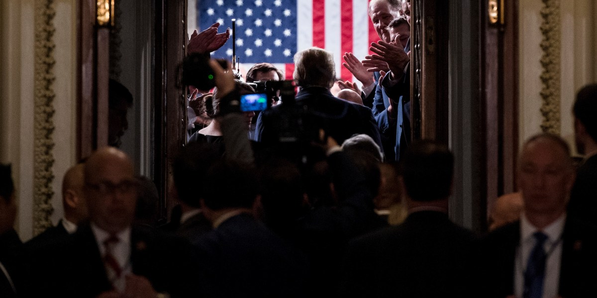 Strong, hateful and inspiring? — Lawmakers react to State of the Union in 3 words - Roll Call