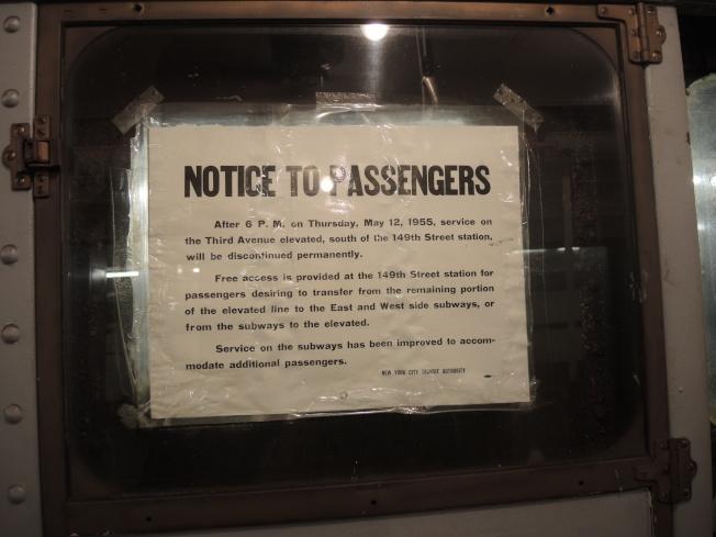 40多年前的「乘客需知」。(記者尹英姿/攝影)