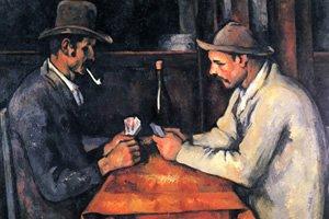 O Jogador de Cartas, de PAUL CÉZANNE