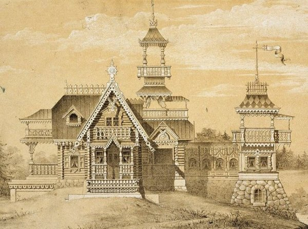 Русская усадьба 19 века забытое очарование Материал