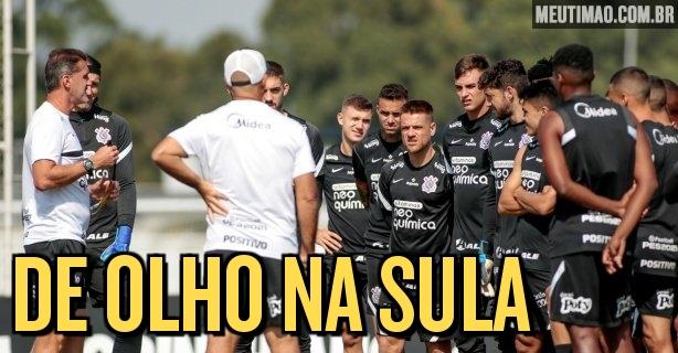 Corinthians envia lista de inscritos para a Copa Sul-Americana;  aumento de vagas no torneio facilitado