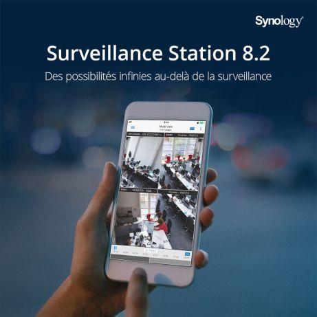 surveillance station nas synology enregistrer camera surveillance