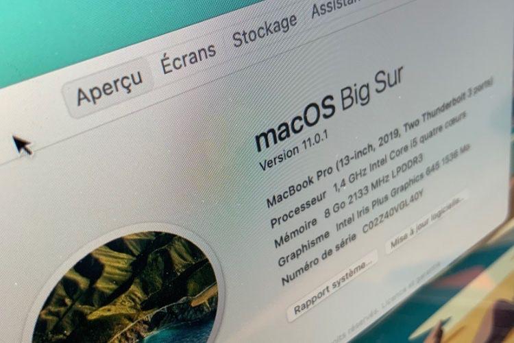 MacOS Big Sur : toutes les nouveautés de cette nouvelle mise à jour !
