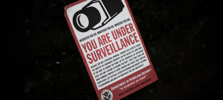 You Are Under Surveillance by Matt Katzenberger (CC BY-NC-SA 2.0) https://flic.kr/p/6JBjhQ