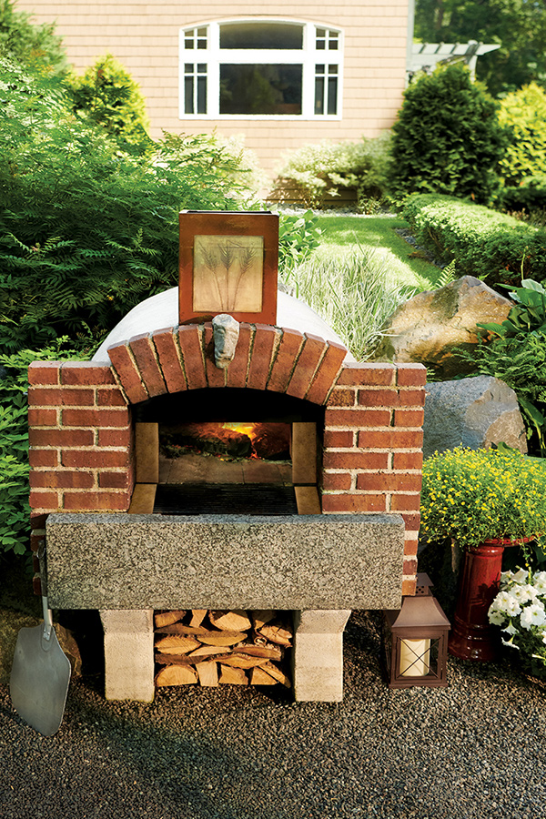 Backyard Pizza Parties - Midwest Home on Outdoor Patio With Pizza Oven  id=50154