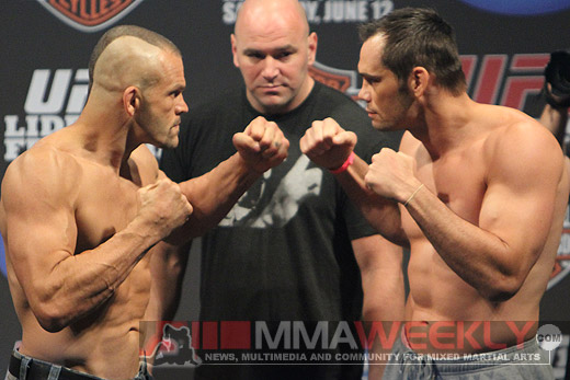 Chuck Liddell VS Rich Franklin