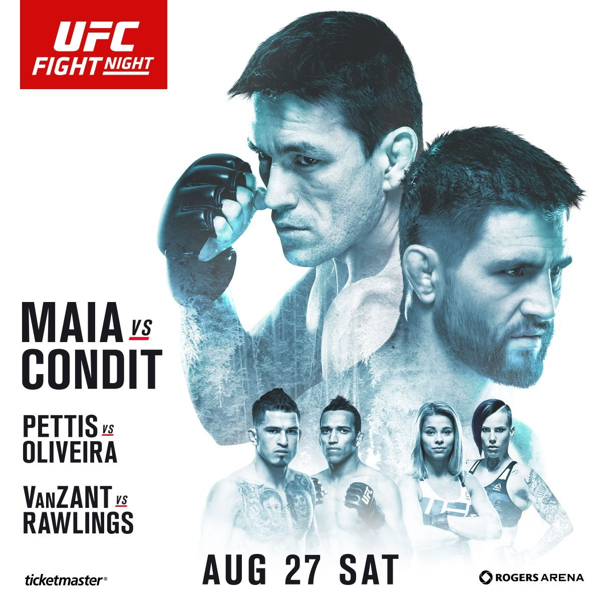 Image result for ufc on fox 21 poster
