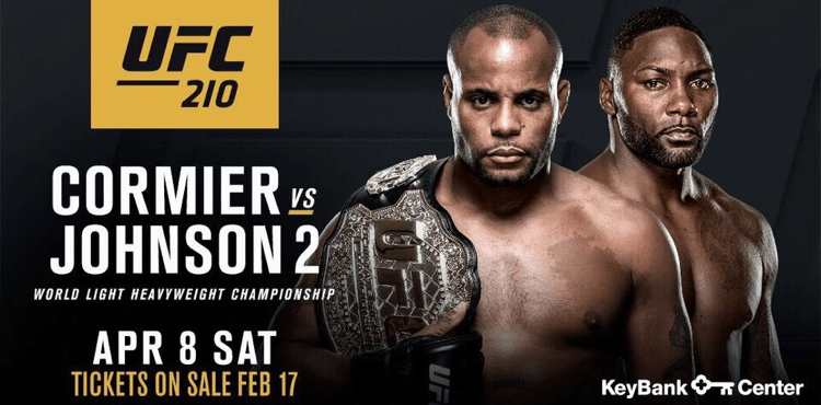 Image result for UFC 210 poster