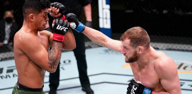 UFC Vegas 21 results: Davey Grant knocks out Jonathan Martinez