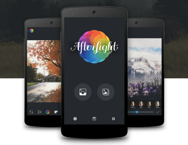 Popular photo filter app Afterlight debuts for Android ...