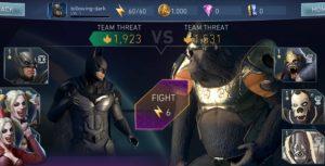 Injustice 2 Mobile Batman vs. Gorilla Grodd