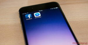 Facebook and Messenger on iPhone