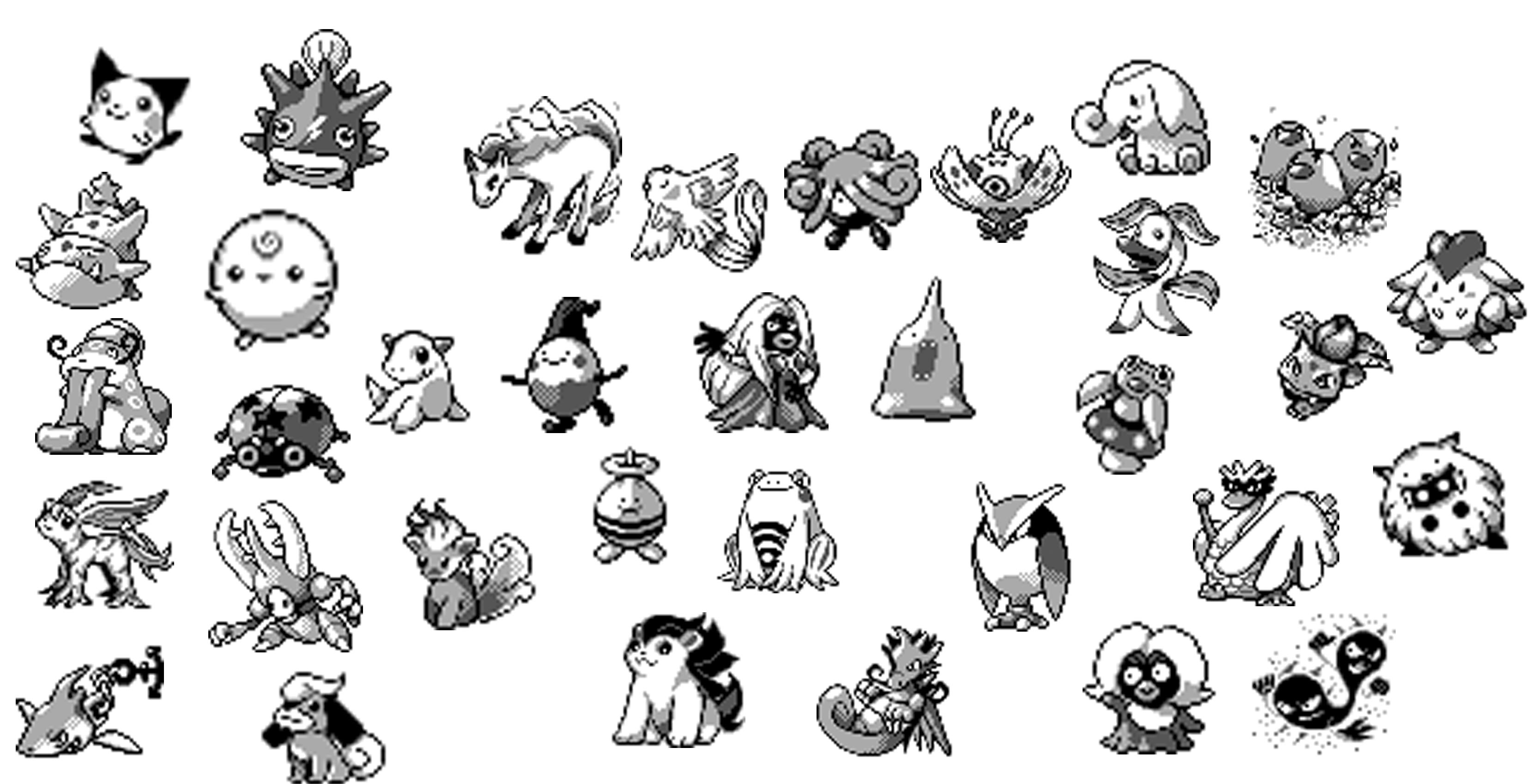 Dataminers Have Found Unreleased Pokemon Sprites In Gold