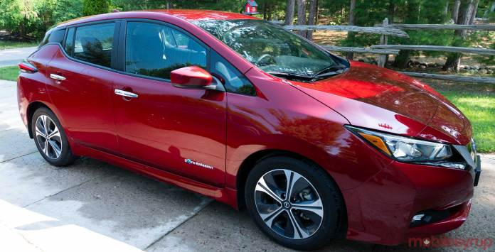 canadian government launches $5,000 electric vehicle incentive