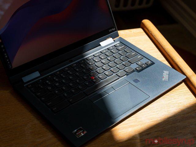 Lenovo ThinkPad C13 Yoga Gen 1 moody keyboard