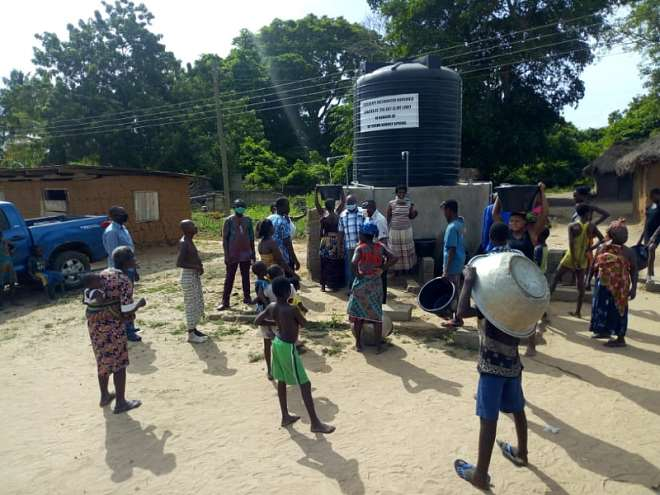 , Volta Region: More Than 7,000 Residents Benefit From Water Project Amidst Jubilation