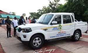Boakye Agyarko Gives Vehicle, Fuel Coupon To Krobo Girls SHS