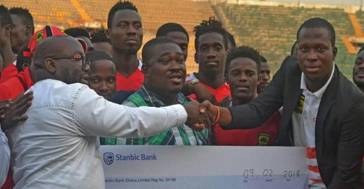Asante Kotoko Faithfuls Donates GHC10,000 To Players Ahead Of CARA Clash