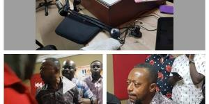 Rev. Owusu Bempah Vandalizes Laptop,Microphone At A Radio Station