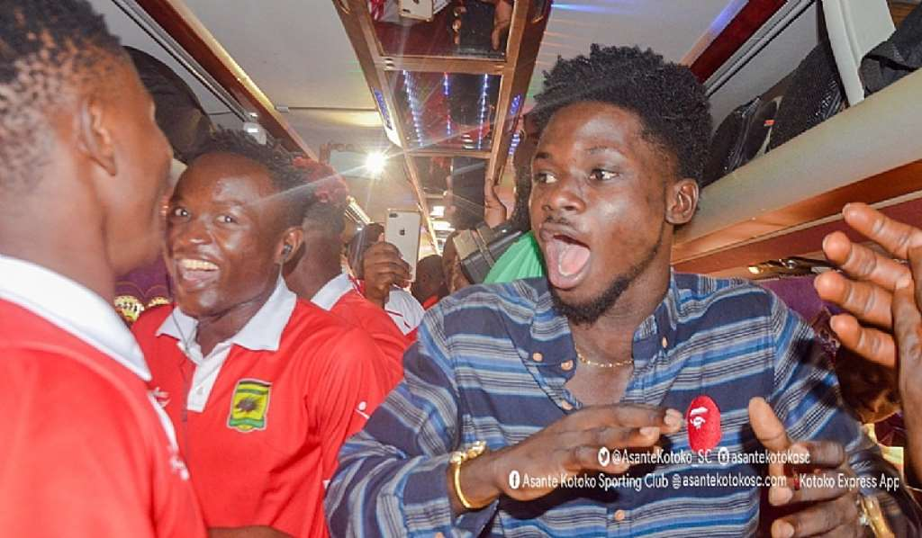 VIDEO: Watch As Kuami Eugene Join Kotoko Players To Celebrate ...