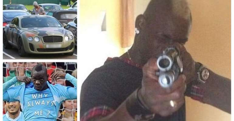 Balotelli's Most Shocking Confessions: Guns, Racism And A House On Fire