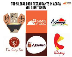 Top 5 Local Food Restaurants In Accra You Didn't Know